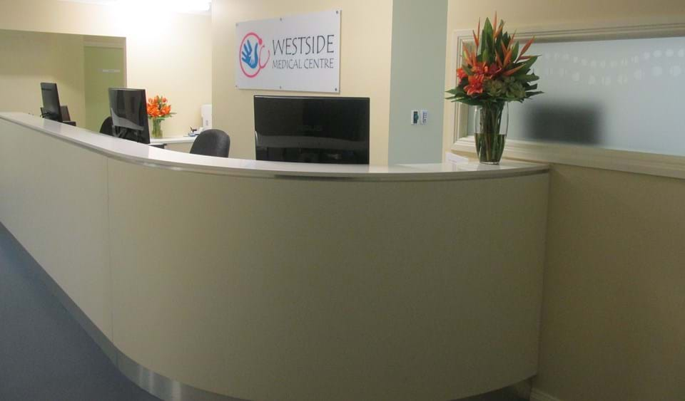 Westside Medical Centre Reception Desk